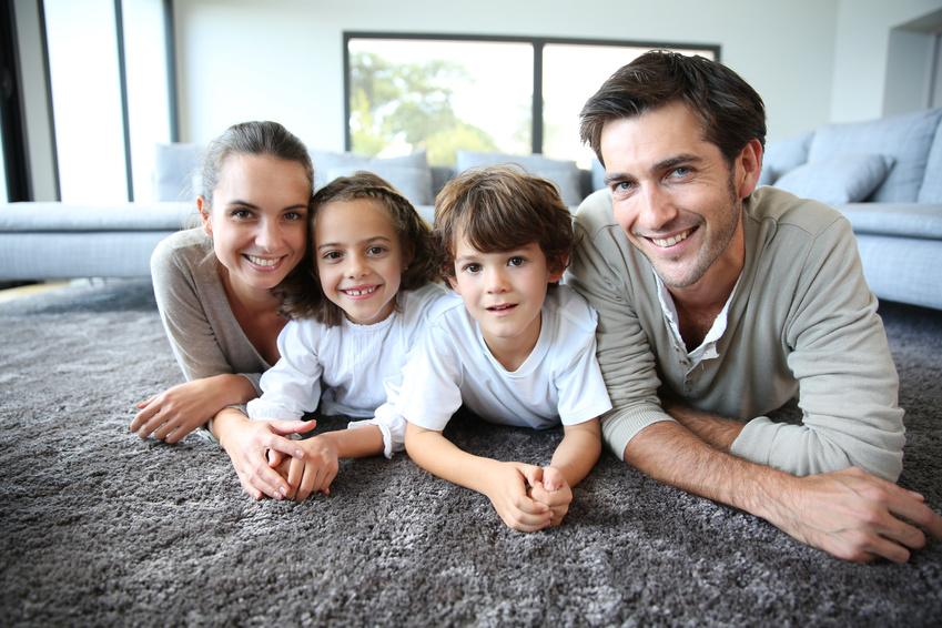 Eine glückliche Familie Feng Shui schafft ein harmonisches Umfeld